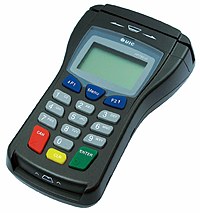 Allow customers to maintain possession of their credit and debit cards by using a pin pad with signature capture point of sale hardware.